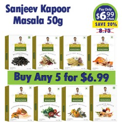 Buy Any 5 Sanjeev Kapoor 50g Masala for 6.99