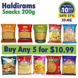 Buy Any 5 Halidrams 200g snacks for $10.99