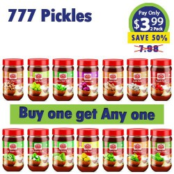 777 Pickles - Buy One and get any One Free
