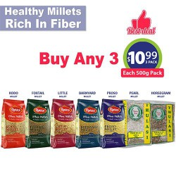 Buy Any 3 Millets for $10.99