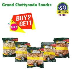 Buy 2 Get 1 Free - Grand Chettynadu Snacks