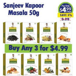 Buy Any 3 Sanjeev Kapoor 50g Masala for 4.99