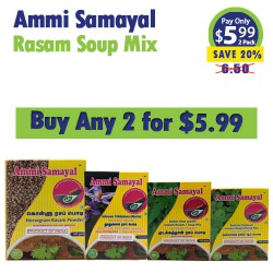 Buy Any 2 Ammi Rasam Mix for 5.99