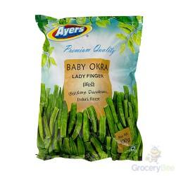 Baby Okra Frozen 300g