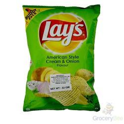 Lays American Cream Onion