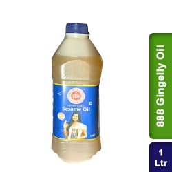 888 Gingelly Oil Pure Healthy Sesame Oil 1L