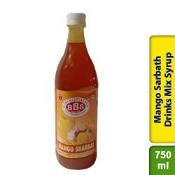 888 Mango Sarbath Sharbat Drinks Mix Syrup 750ml