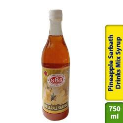 888 Pineapple Sarbath Sharbat Drinks Mix Syrup 750ml