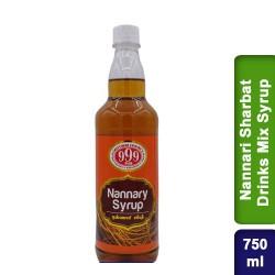 999 Nannari Sarbath Sharbat Drinks Mix Syrup 750ml