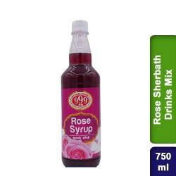 999 Rose Sarbath Sherbath Drinks Mix 750ml