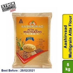 Aashirvaad Multigrain Atta Flour Clearance Sale