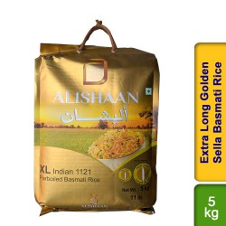 Alishaan XL Extra Long Golden Sella 5kg