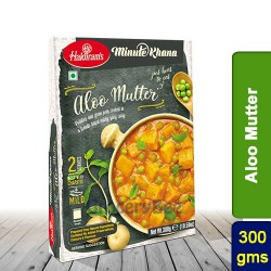 Aloo Mutter (Mattar Matar) Haldirams 300g Ready to Eat