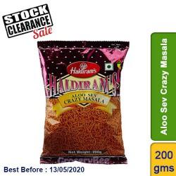 Aloo Sev Crazy Masala Haldirams 200g Clearance Sale