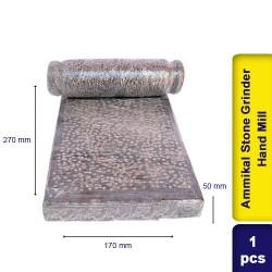 Ammikal Stone Grinder Sil Batta  Stone Flour Hand Mill