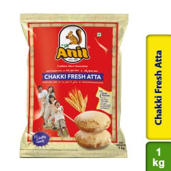 Anil Chakki Fresh Wheat Atta Flour Traditional