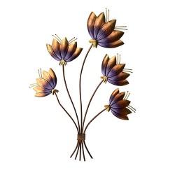 Antique Flower Bunch, 20 X 12 Inch
