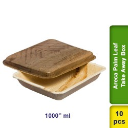 Areca Palm Leaf Take away box 1000ml 10pcs