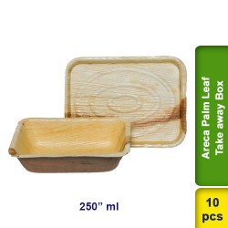 Areca Palm Leaf Take away box 250ml 10pcs