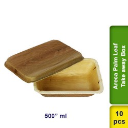 Areca Palm Leaf Take away box 500ml 10pcs