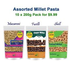 Assorted Millet Pasta 10 for $9.99