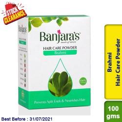 Banjaras Brahmi Hair Care Powder 100gms Clearance Sale