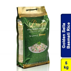 Banno Golden Sella Basmati Rice 5kg