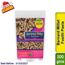 Barnyard Millet Fusilli Pasta / Sanwa Jhangora Kuthiravali Udalu Clearance Sale