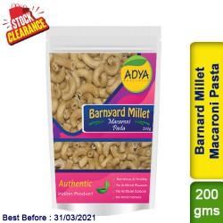 Barnyard Millet Macaroni Pasta / Sanwa Jhangora Kuthiravali Udalu Clearance Sale
