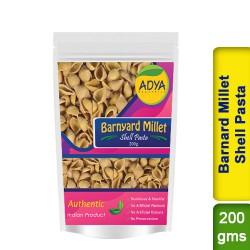 Barnyard Millet Shell Pasta / Sanwa Jhangora Kuthiravali Udalu