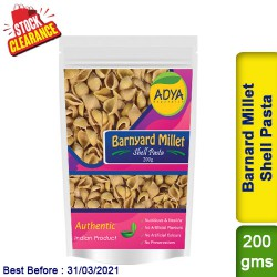 Barnyard Millet Shell Pasta / Sanwa Jhangora Kuthiravali Udalu Clearance Sale