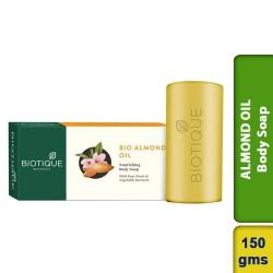 Biotique ALMOND OIL Nourishing Body Soap for Sensitive Skin 150g