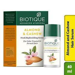 Biotique Bio Almond and Cashew Fresh Replenishing Hair Serum 40ml