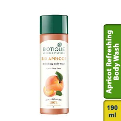 Biotique Bio Apricot Refreshing Body Wash 190ml