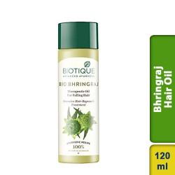 Biotique Bio Bhringraj Therapeutic Hair Oil 120ml