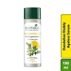 Biotique Bio Dandelion Visibly Ageless Serum 190ml