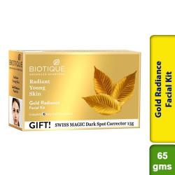 Biotique Bio Gold Radiance Facial Kit 65g