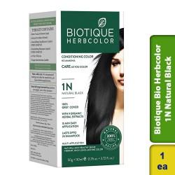 Biotique Bio Herbcolor 1N Natural Black Color