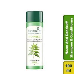 Biotique Bio Neem Margosa Anti Dandruff Shampoo and Conditioner 190ml
