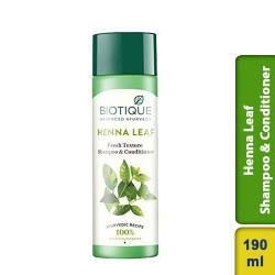 Biotique Henna Leaf Fresh Texture Shampoo & Conditioner 190ml