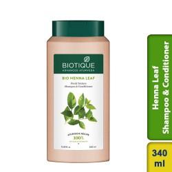 Biotique Henna Leaf Fresh Texture Shampoo & Conditioner 340ml