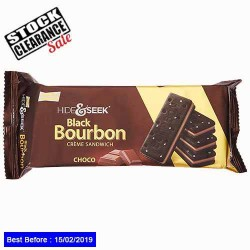 Black Bourbon Choco Biscuits Clearance Sale