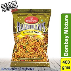 Bombay Mixture Haldirams 400g Clearance Sale