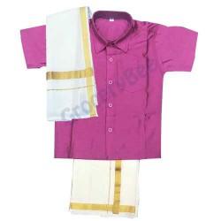Boys Ethnic Wear Purple