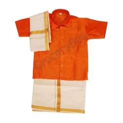 Boys Ethnic Wear Orange