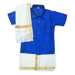 Boys Ethnic Wear Royal Blue