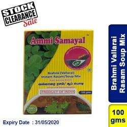 Brahmi Vallarai Mandukaparni Rasam Soup Mix Clearance Sale
