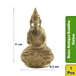 Brass Antique Buddha Statue figurine BS103