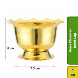 Brass Chandan Pooja Bowl Special Cup
