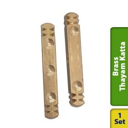 Brass Dice Solid Thayam Katta Large